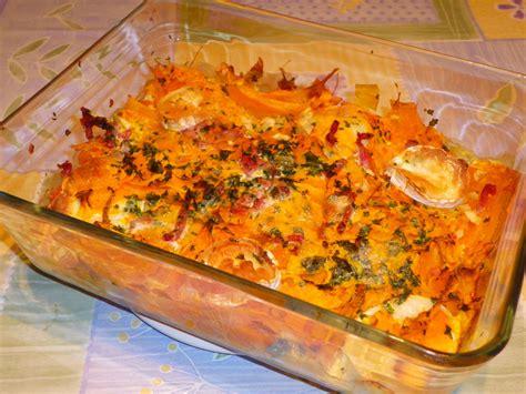 cuisiner butternut gratin gratin de potimarron au chèvre partage de recettes entre