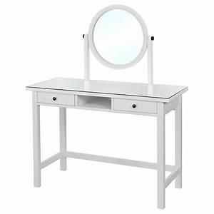 Miroir Pour Coiffeuse : hemnes coiffeuse avec miroir blanc 110 x 45 cm ikea ~ Teatrodelosmanantiales.com Idées de Décoration