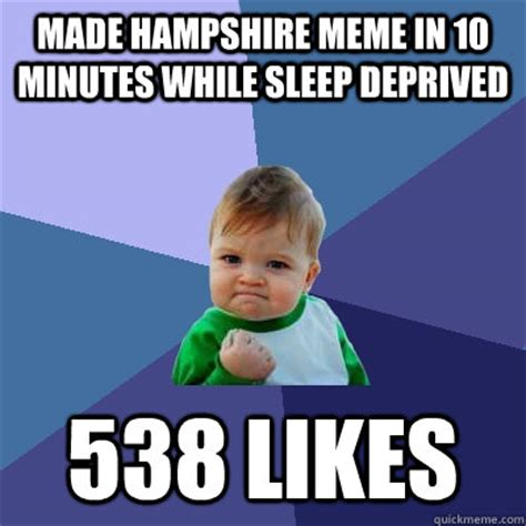 100 Memes In 3 Minutes - made hshire meme in 10 minutes while sleep deprived 538 likes success kid quickmeme