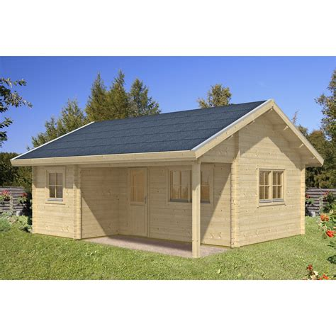 Gartenhaus Aus Holz by Skan Holz Gartenhaus Ontario Mit Dachschalung B X T 600 Cm