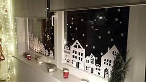Fenster Bemalen Weihnachten : feine fensterbilder zu weihnachten und winterzeit ~ Watch28wear.com Haus und Dekorationen