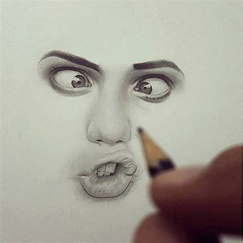 realistic face drawing ideas  pinterest
