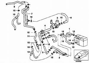 Original Parts For E39 540i M62 Touring    Heater And Air Conditioning   Independent Heating Water