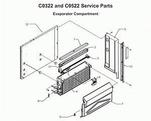 Scotsman Prodigy C0522 Parts Diagram