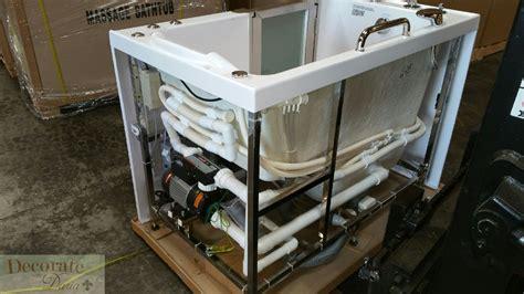 walk  bathtub whirlpool jetted hydrotherapy massage air