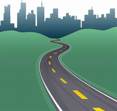 Road Vector Clipart Highway Different Clip Illustration