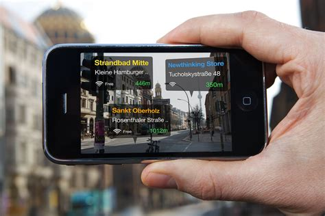 augmented reality  smartphones friends  foes