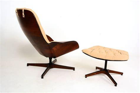 plycraft mr chair by george mulhauser plycraft mr chair and ottoman by george mulhauser at 1stdibs