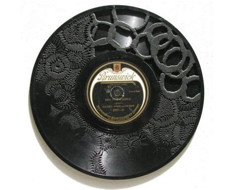 stunning vinyl record carving embroidery bit rebels