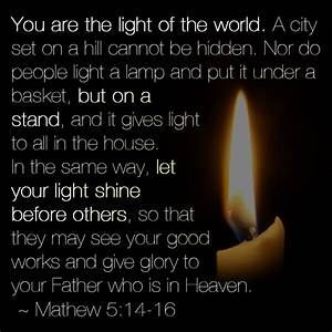 the 25 best mathew 5 ideas on pinterest mathew 5 9 With light a lamp and put it under a basket