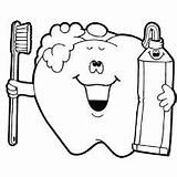Dental Coloring Tooth Pages Health Happy Dentist Preschool Toddler Teeth Printable Visit Care Child Colouring Hygiene Brush Brushing Template Worksheets sketch template
