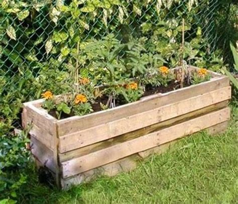 Diy Recycled Pallet Planter Ideas  Diy And Crafts