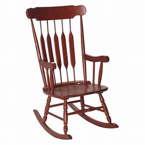 Gift, Mark, Adult, Rocking, Chair, -, Cherry