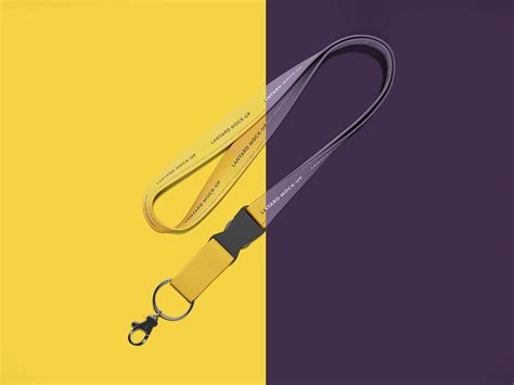 All free psd mockups you will find with lot of sub categories,just browse these freebies and use them for your commercial and personal projects. Free Standard Lanyard Mockup PSD - Good Mockups