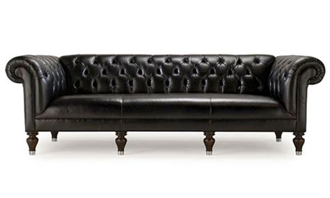 Long Tufted Sofa by 12 Gorgeous Tufted Leather Sofas