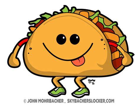 Walkin Taco Cartoon