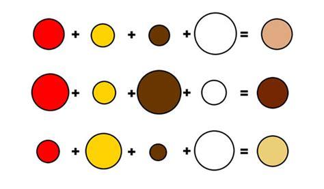 how to mix skin color paint paint color ideas
