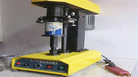 tabeltop cans sealing machine metal pet metal  sealer equipment benchtop aalb alfok khtm alaal