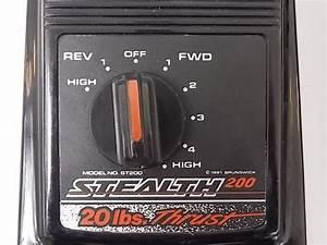 Motor Guide Stealth 200 Trolling Motor 20lb Thrust Cap