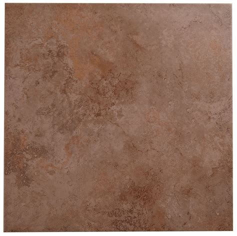 Castle Travertine Chocolate Stone Effect Ceramic Wall