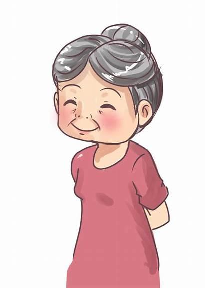 Grandmother Grandma Flashcards Members Clip Anime Link