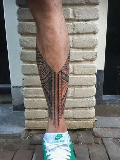 Tattoos Leg Sleeve Tattoo Tribal Maori Polynesian