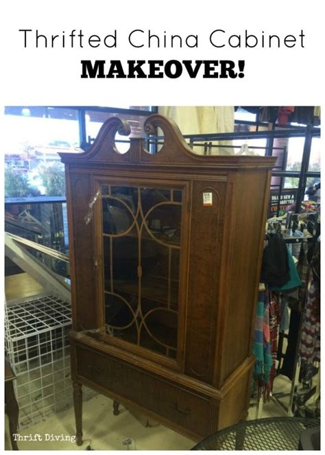 china cabinet makeover   paint