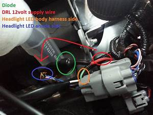 How To Turn Brz Headlight Led Into Drl