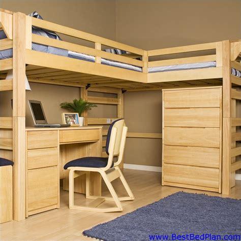 loft bed plans  woodworking