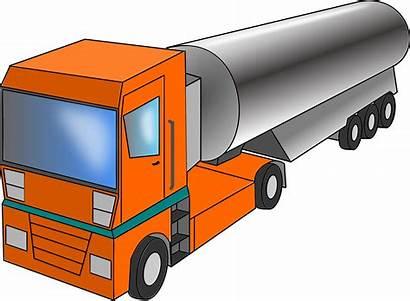 Truck Clipart Cistern Tanker Clip Milk Water