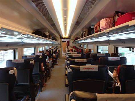 carrozza treno italo blog100days