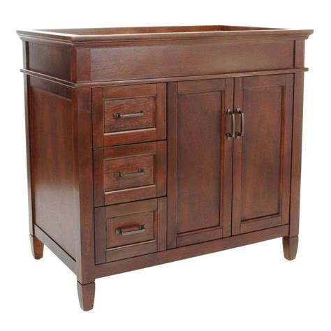 foremost ashburn 36 in w x 21 5 in d x 34 in h vanity
