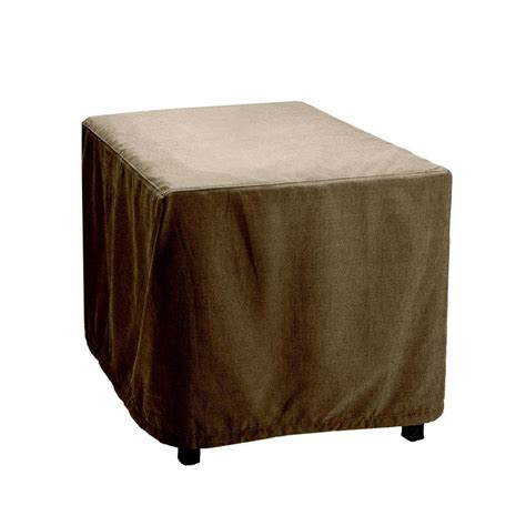 brown vineyard patio furniture cover for the cafe