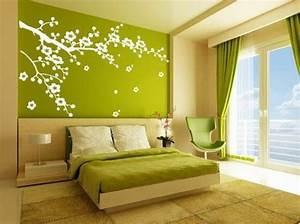 stickers chambre adulte lesquels choisir archzinefr With couleur peinture mur 3 chambre orangevert