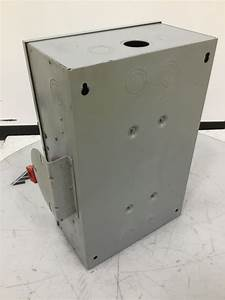 Ge Tc35323 General Electric Double Throw Safety Switch 100