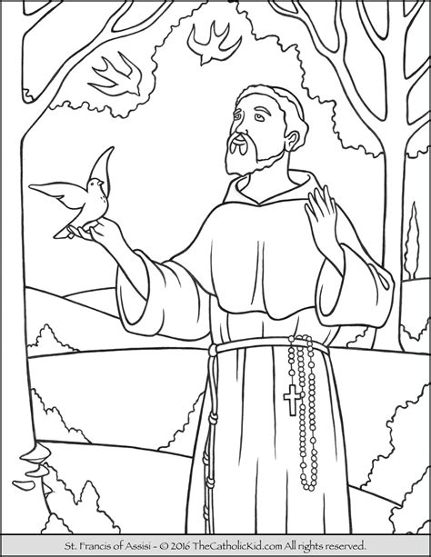 Saints Coloring Pages To Print