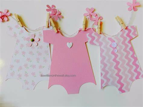 plain cutout dress it 39 s written on the wall ideas for your baby shower