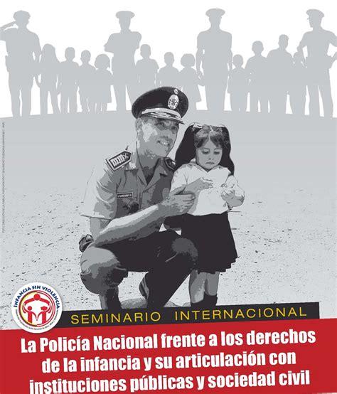Buen Trato para la Niñez: Policias analizarán su papel en
