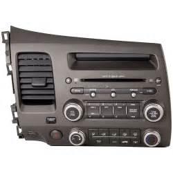 honda civic radio  cd player  fm mp cd radio
