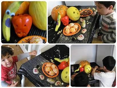 Fruit Spooky Halloween Party Healthy Intheplayroom