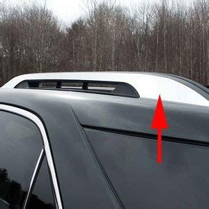 chevrolet equinox factory roof rack chrome trim