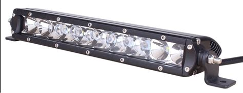 10 inch led light bar 50 watt 4lowparts