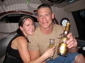 Elizabeth Huberdeau first gets blindsided by John Cena ...