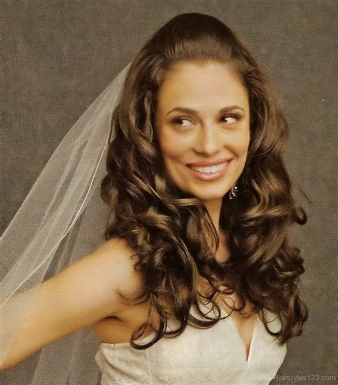 nice curly hairstyle nice curly hairstyle for wedding