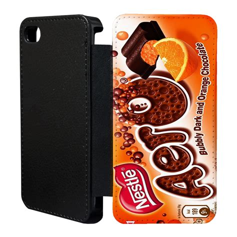 chocolate iphone chocolate wrappers flip cover for apple iphone t2