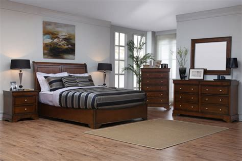 kingston dark walnut bedroom set  lifestyle solutions