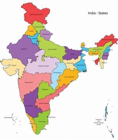 India Map States Outline Mapa Maps Latest