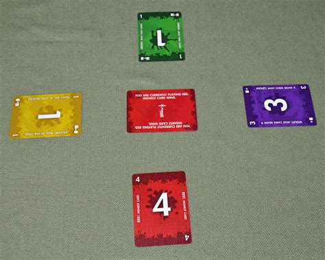 Unique concept is the primary one of the nice ccgs out there. Red7 card game - Win each turn or you're out!