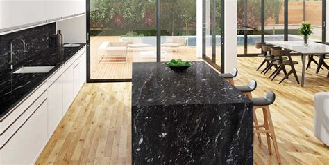 por  decantarse por una encimera de granito  marmol negro