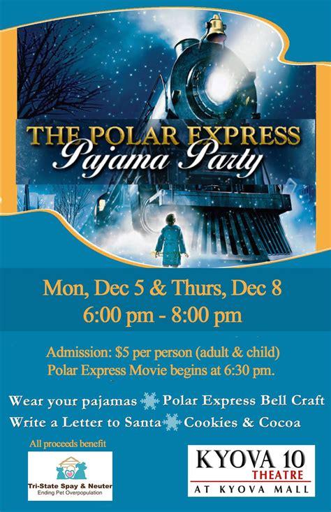 Polar Express Pajama Party Tickets In Ashland Ky United